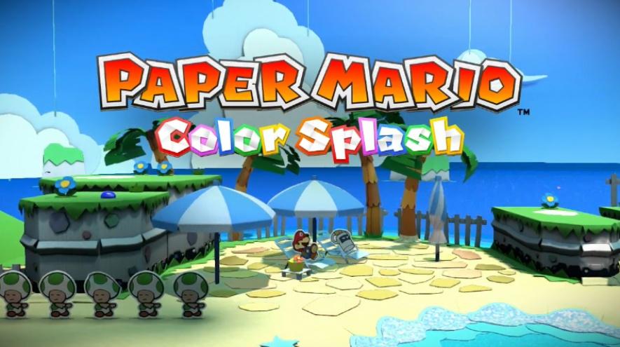 Resultado de imagem para Paper Mario Color Splash