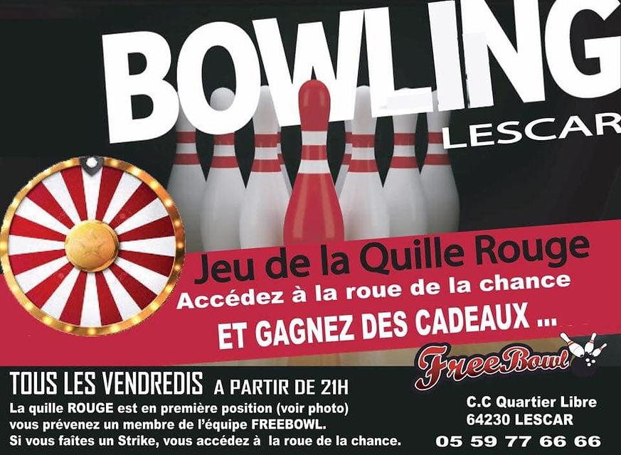 bowling billard pau lescar