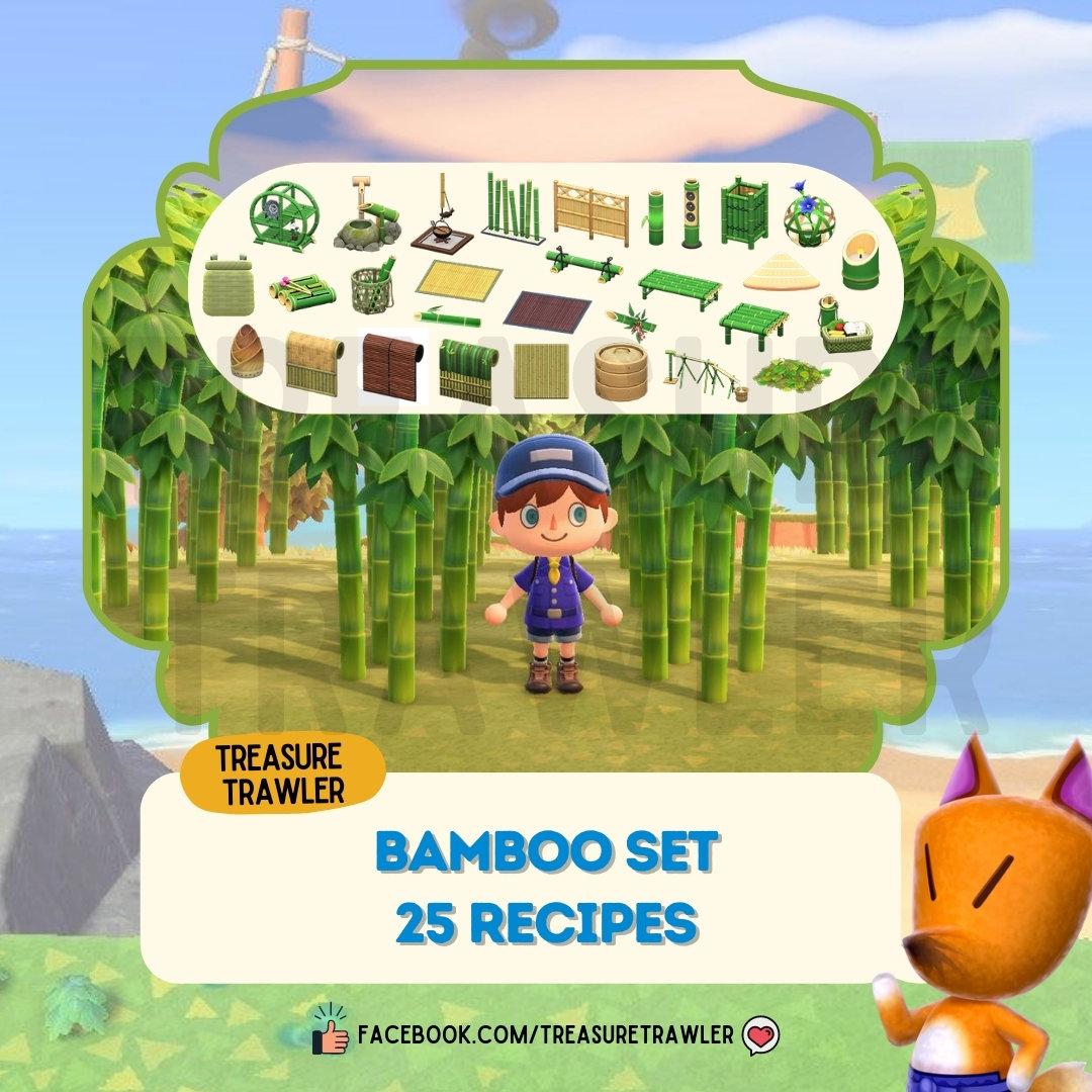 Bamboo Recipe Set Crafting Materials Treasuretrawler