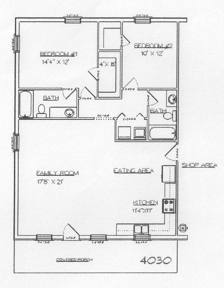 30x40 metal building floor plans for Metal building floor plans