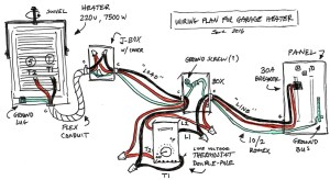 Garage Heater Wiring Plan