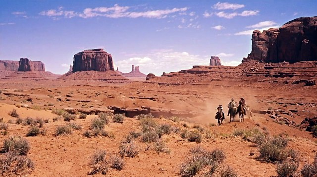 THE SEARCHERS, 1956 classic western John Wayne, Ford, Jeffrey Hunter,  Natalie Wood, movie