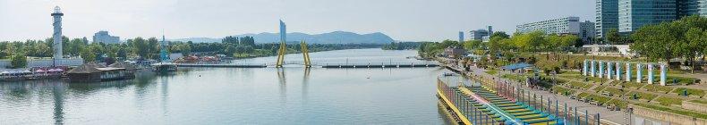 CopaBeach und Donauinsel