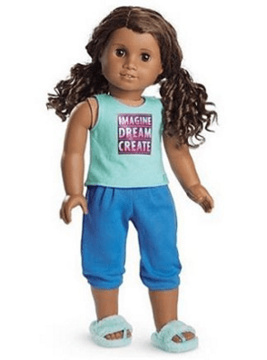 Image result for Gabriela Mcbride American girl doll pajamas