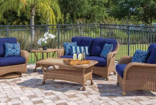 wicker commercial outdoor furniture