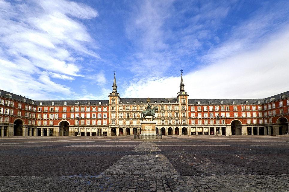 Resultado de imagen de Imágenes de Madrid, sin gente