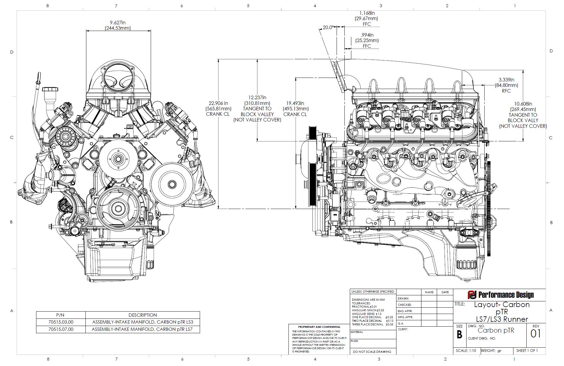 Carbon Ptr Intake Manifold