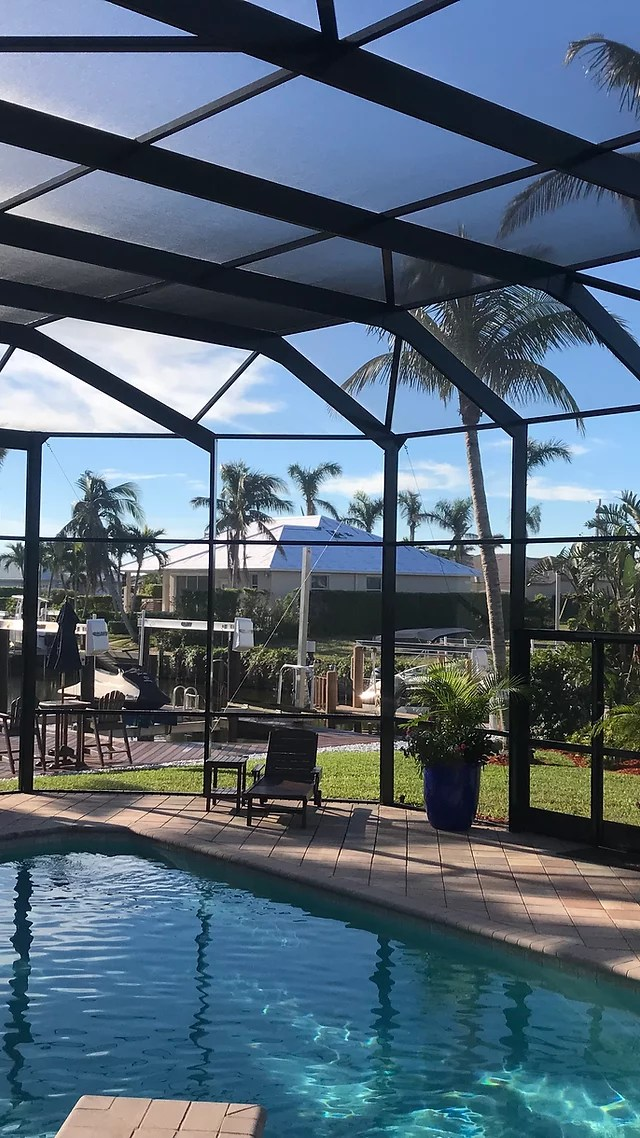 pool enclosures naples marco island
