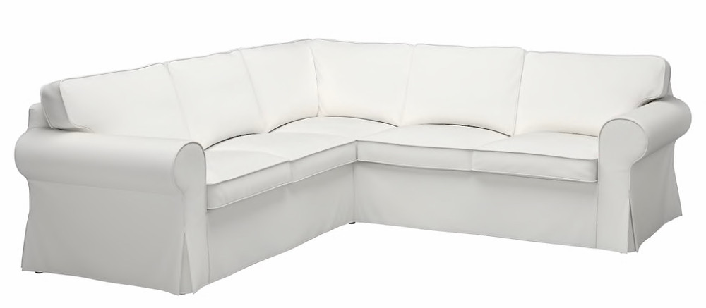 The uppland also has springs in the cushions, while the ektorp cushions only had foam, and the slipcovers are still machine washable and come in. IKEA Ektorp Sectional