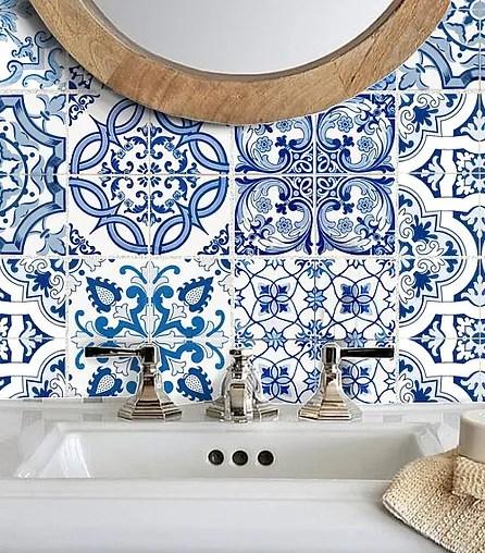 waterproof vinyl tile stickers snazzy