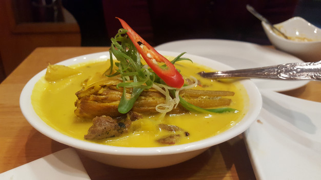 Daging Salai Masak Lemak Chili Padi - Grilled Spicy Coconut Curry