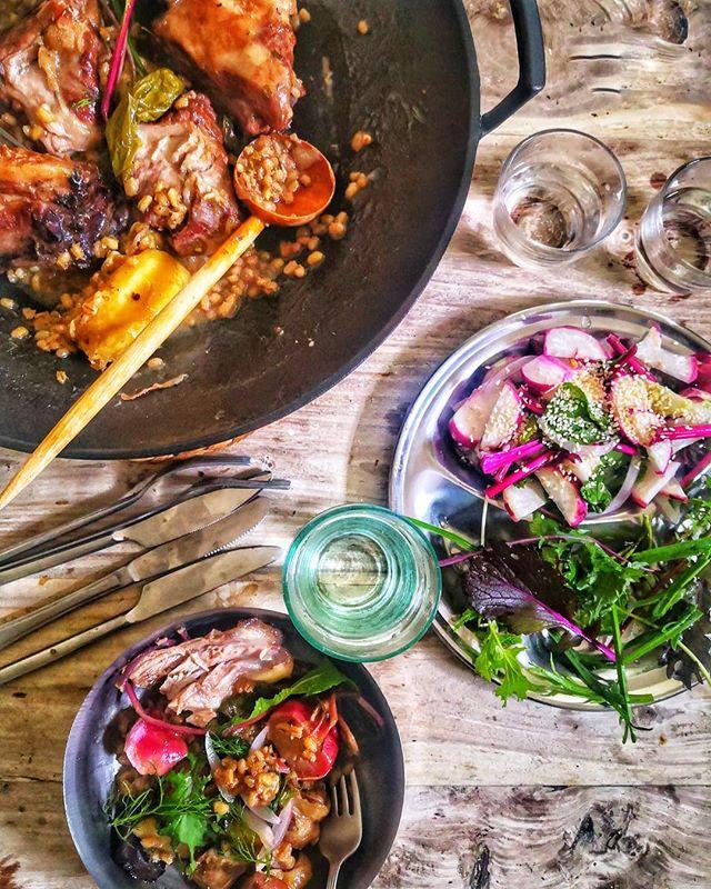 repas complet de saison et local