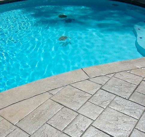 decorative concrete pool decks pool patios