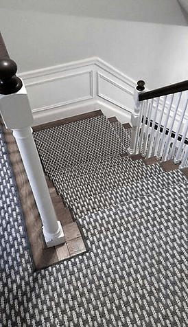 Stair Runners Carpet Hall Runners K Powers Company | Designer Carpet For Stairs | Stair Railing | Victorian | Flower Design | Treads | American Style