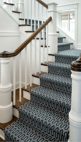 Stair Runners Carpet Hall Runners K Powers Company | Carpet Runners For Steps | Good Quality Carpet | Starter Step Carpet Runner | Solid Colour | Hollywood | Light Grey