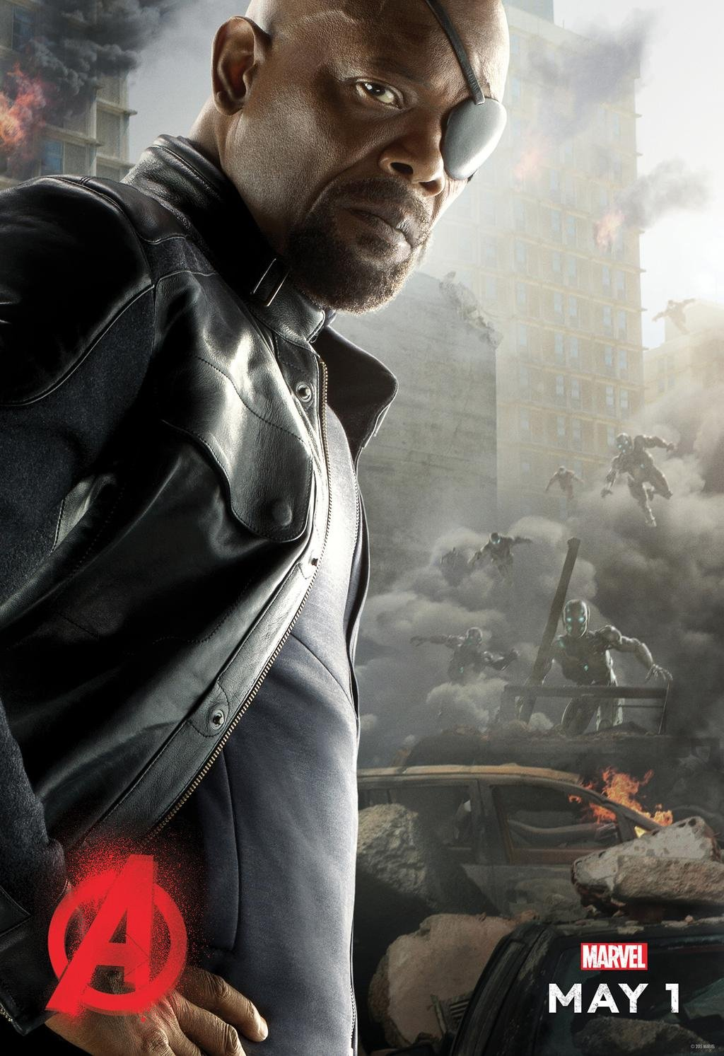 nick fury movie poster