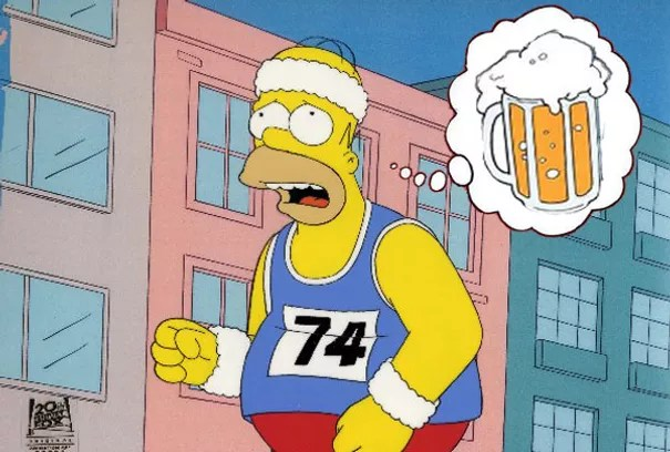Image result for beer running