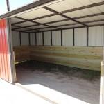 10 X 20 Horse Shelter Wood Sides 48 H