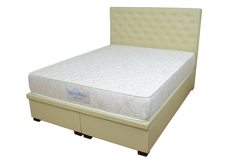Montreal Queen Storage Bed With Sanctuary 6800 Mattress