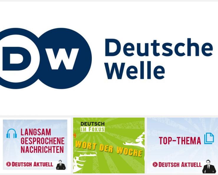 Deutsche Welle, Langsam gesprochene Nachrichten.