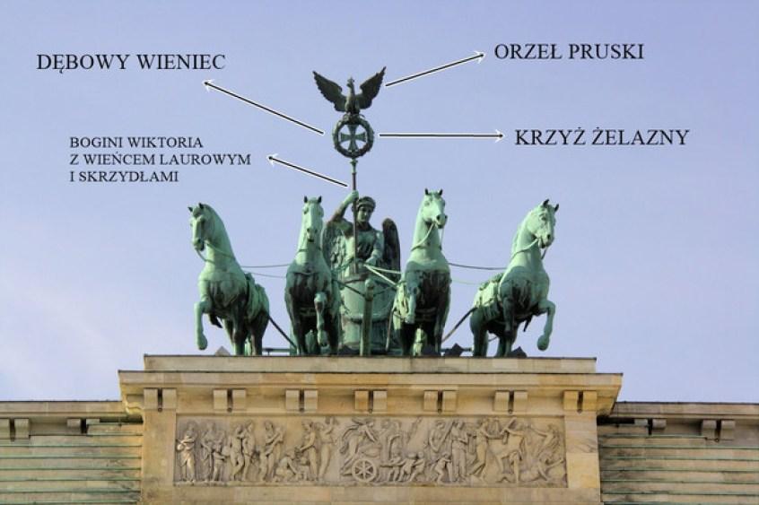 michael.berlin Quadriga auf dem Brandenburger Tor https___flic.kr_p_8Jdagp (moja edycja - dopisanie nazw elementów Kwadrygi)
