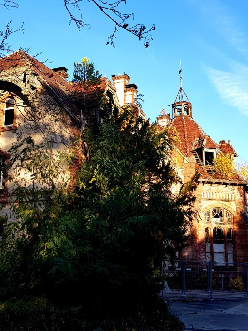 Ruiny Sanatorium wBeelitz
