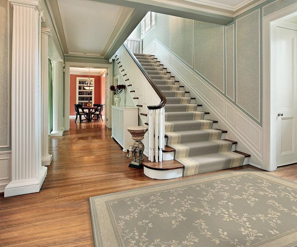 Best Carpet Runners For Stairs | Best Kind Of Carpet For Stairs | Stairway | Hardwood | Grey | Stair Runners | Herringbone