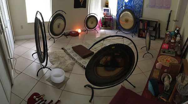 Sound vibrational healing, Gong vortex, gong healing, gong master, numerology, singing bowls, crystal healing, reiki, marma healing, Miami, FL, Trinity Devi