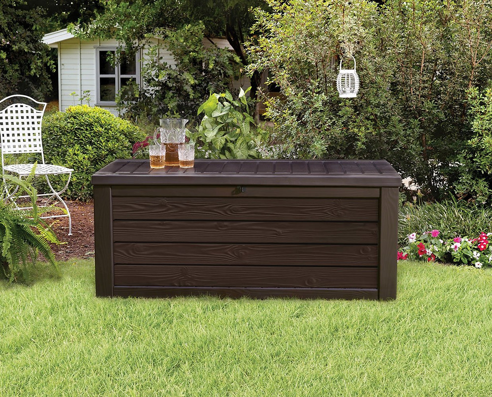 outdoor storage bench what to
