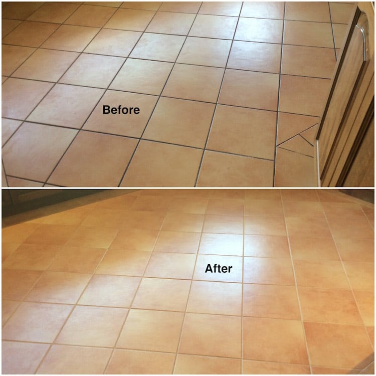 my tiles are dirty porous and need