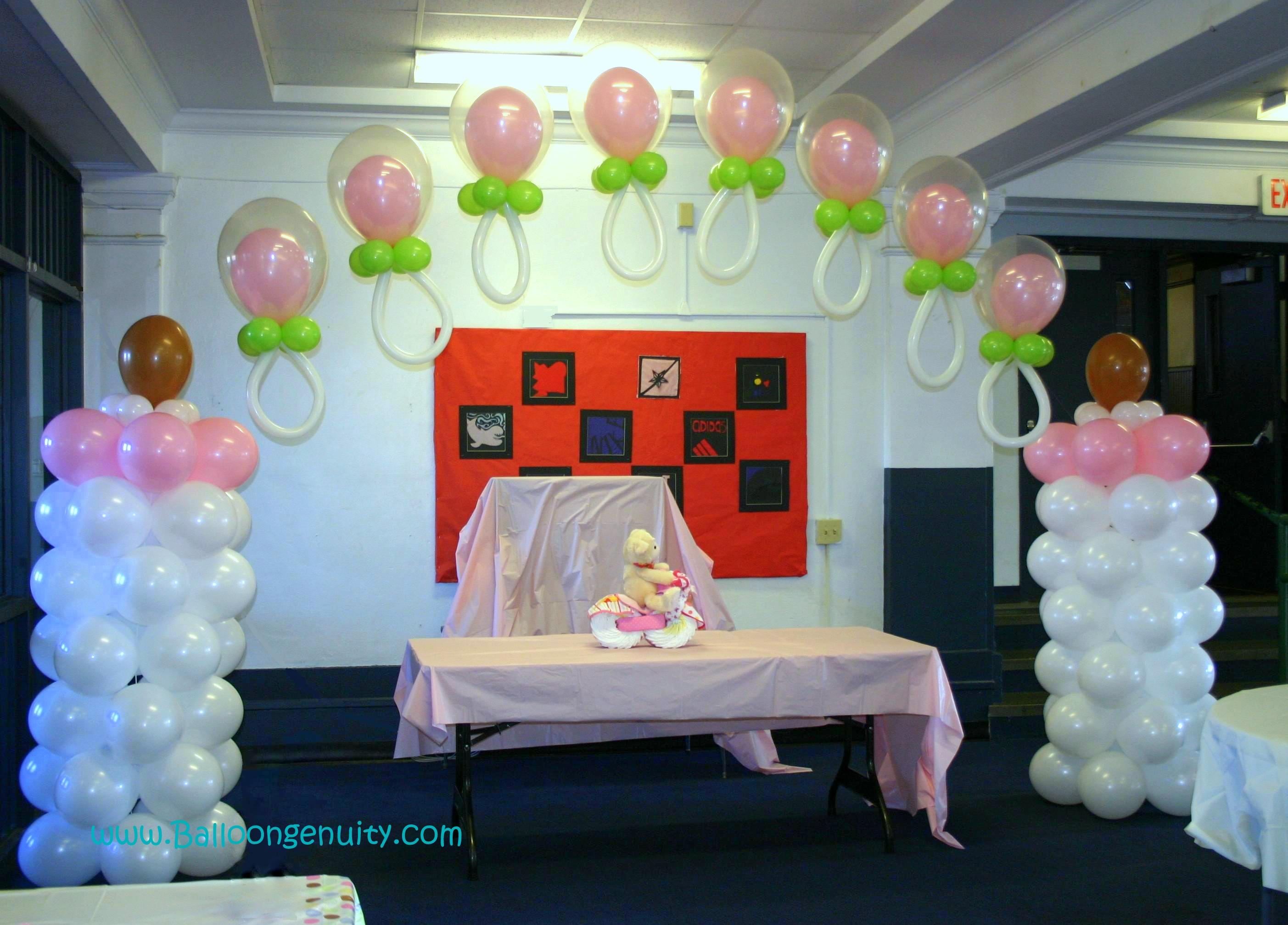 Unique Baby Shower Decoration Ideas