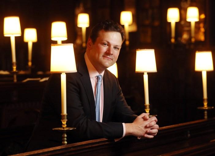 James Vivian will be directing the music at the royal wedding. Source: jamesvivian.com