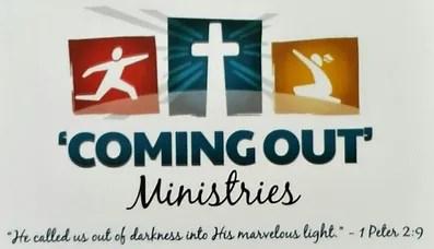Hasil gambar untuk Coming Out Ministries'
