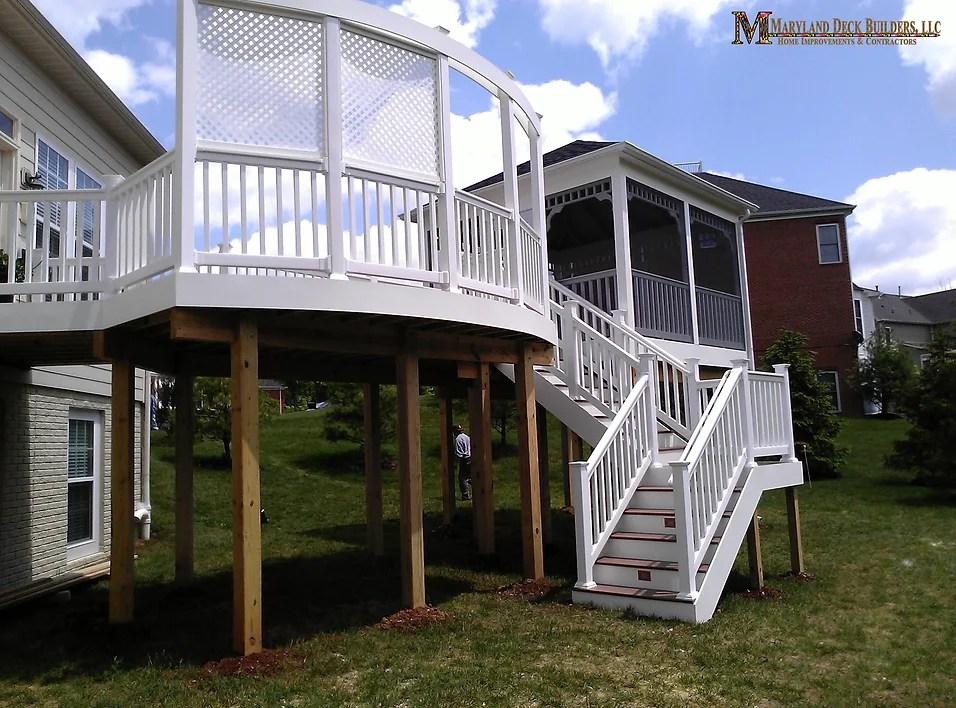 deck patio contractor l columbia md l