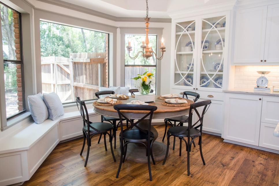 fixer upper dining room how to style a