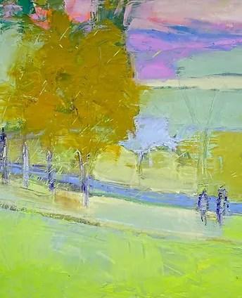 Rising Mist , Oil on Canvas, 48x48