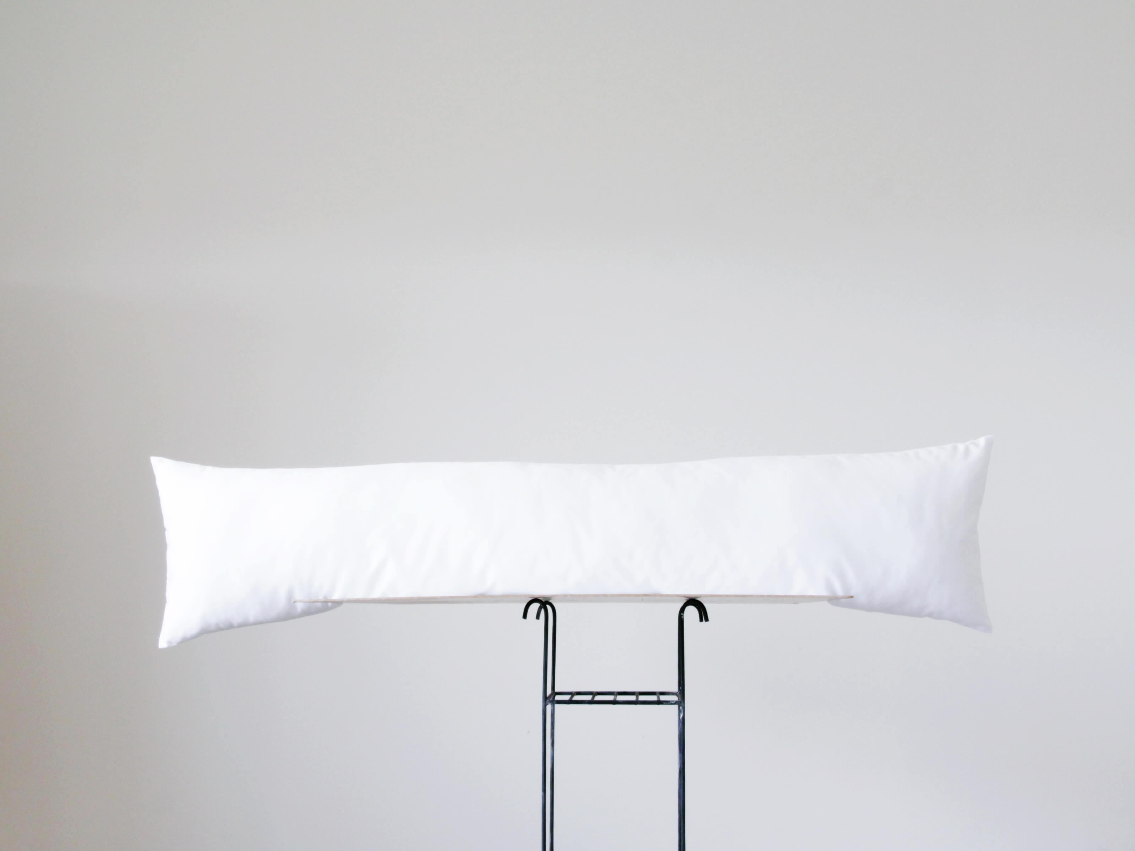 long pillow insert custom body lumbar pillows