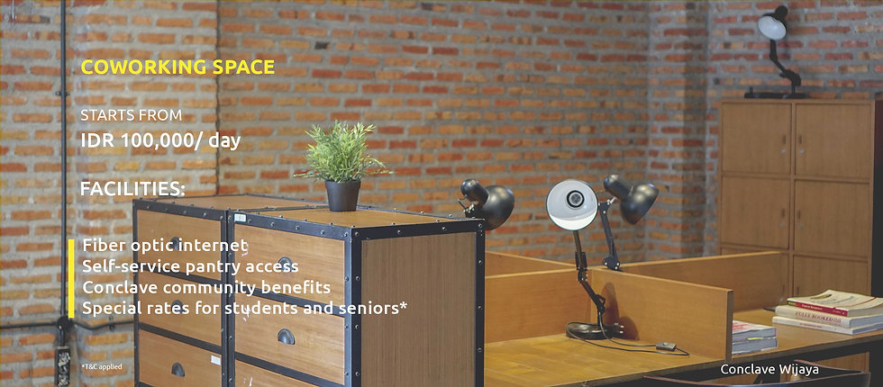 A coworking space designed to help you get things done.