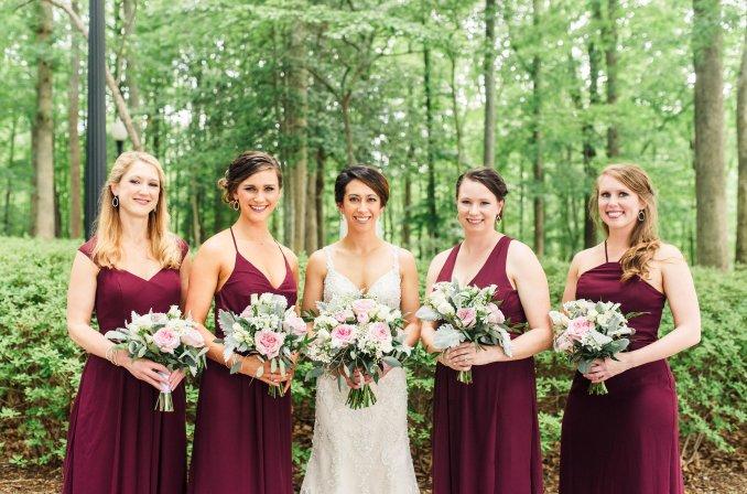wedding hair and makeup | richmond va | fbj weddings