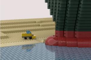 Suez Canal Lego Meme