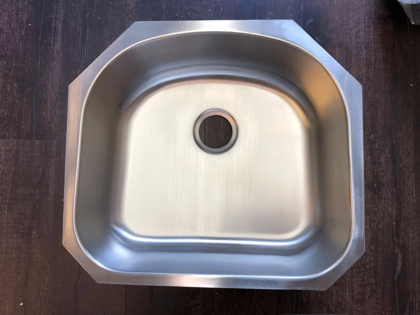 u2321 23 x21 x8 stainless steel single bowl undermount laundry sink byouhome
