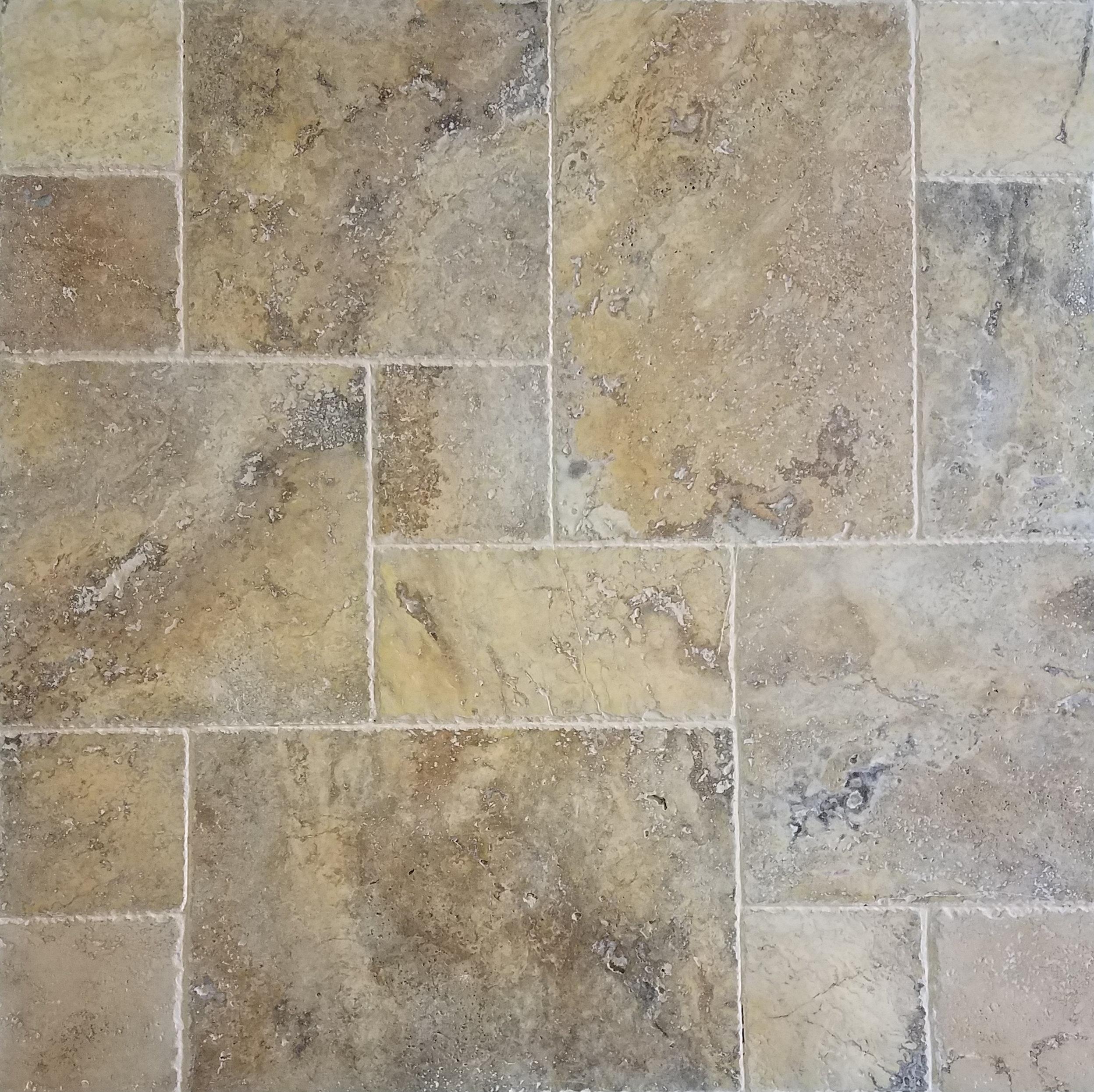 scabos travertine tile versailles pattern stonezone