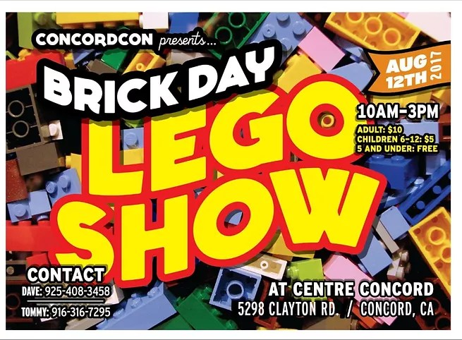 Brick Day Lego Show   Geek Mom Life   Official Site Brick Day Lego Show