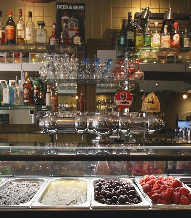 bar restaurant lyon 2 la passerelle
