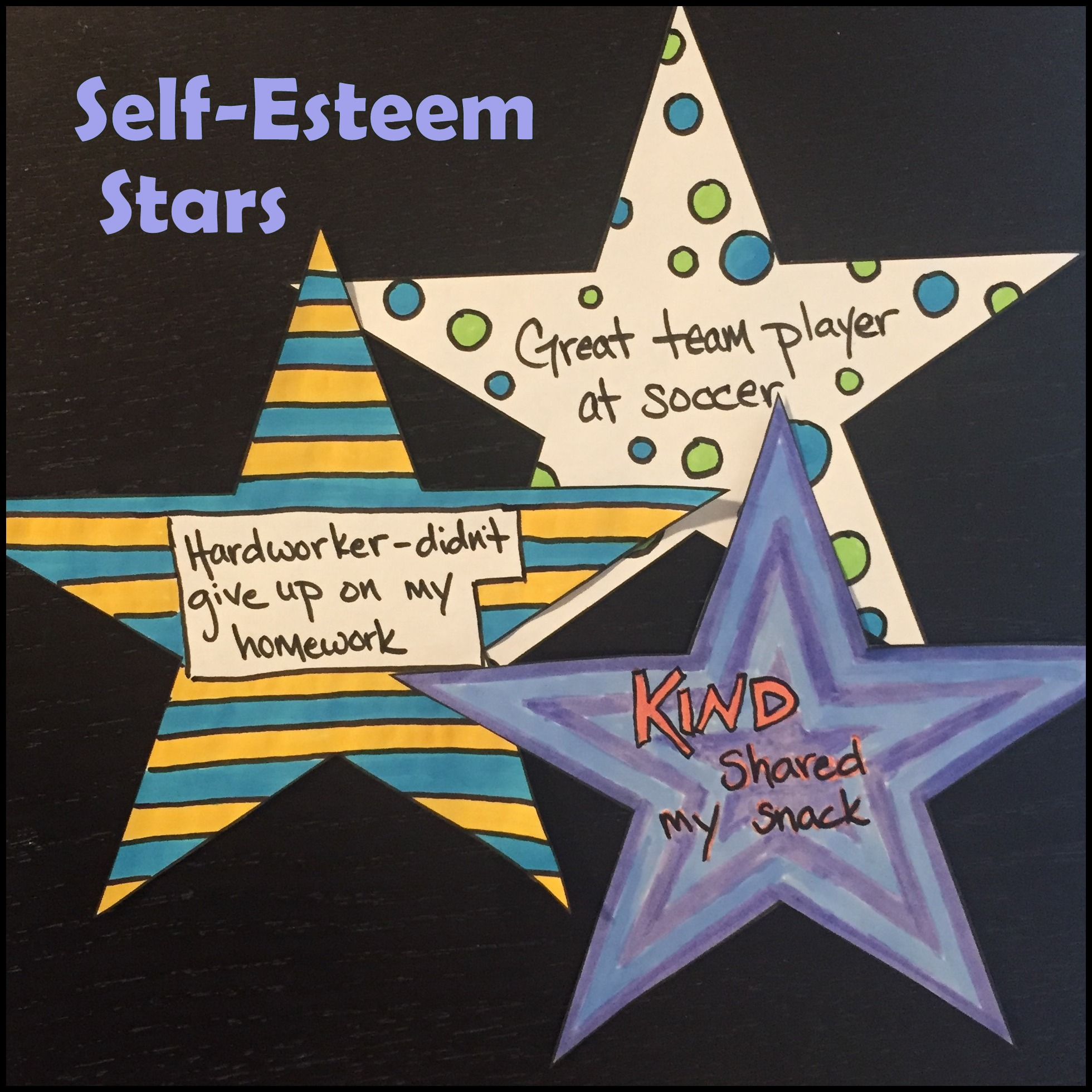 Self Esteem Stars And How To Effectively Praise