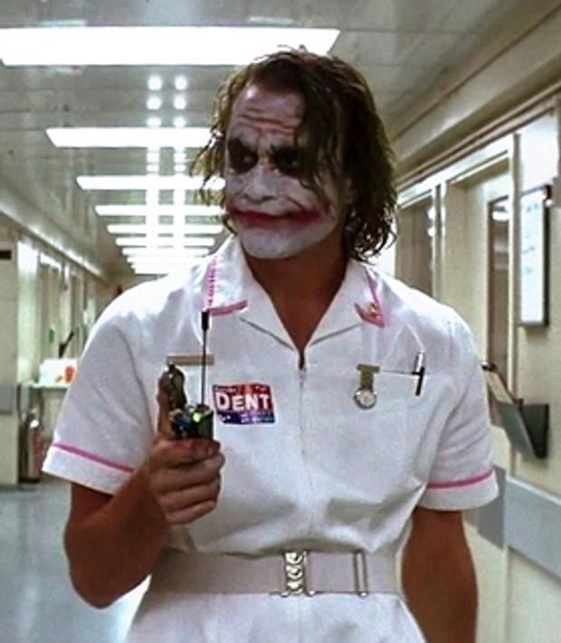 Hopefully not my nurse.