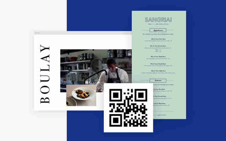 QR codes for shopping
