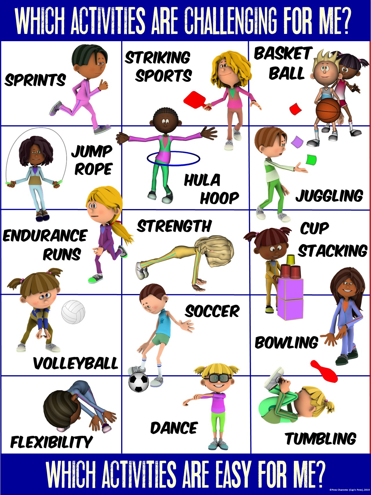 Pe Poster Valuing Physical Activity Series Activity