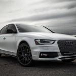 Audi A4 Satin White Pearl Wrap