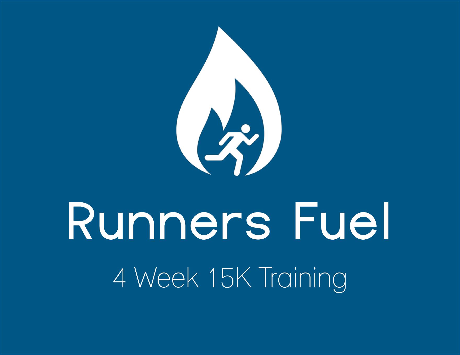 15k 4 Week Training Guide